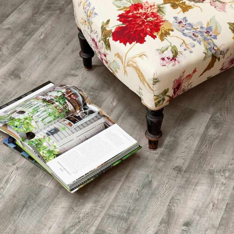 What is luxury vinyl plank flooring?